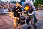 The Seattle Seahawks' mascot, Blitz