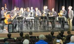 Saxophone section, Inglemoor Jazz II