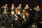Trumpet section, Woodinville Jazz Ensemble