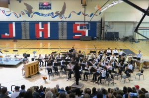 Concert Band, Juanita High School
