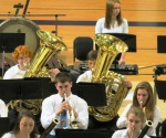 2 of 7 trumpeters, Symphonic Band