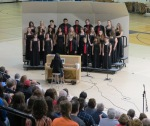 Concert Choir, Lehua Pischke at piano