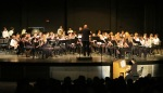"Piano soloist, Concert Band, """"The Seal Lullaby"" by Eric Whitacre"
