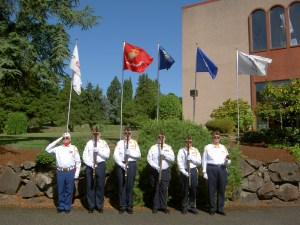 VFW Post 1040 Honor Guard, Acacia Cemetery, Seattle