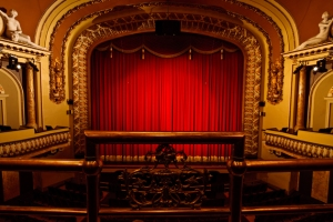 Royal Theatre, Victoria, B.C., Canada, from a loge in the balcony
