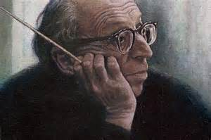 Aaron Copland, composer, teacher, writer, conductor, 1900-1990
