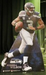 Russell Wilson, QB, Seattle Seahawks, Super Bowl 48 Champions--one of several gifts to Daniel Rowe