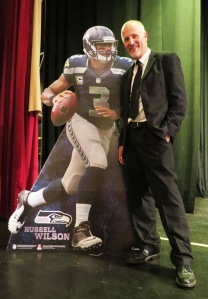 Two great leaders and positive thinkers who excel, Russell Wilson and Daniel Rowe