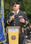 Guest speaker, Brig. Gen. Raymond Coffey, USAR/WSG/USAVR, a member of VFW Post 1040