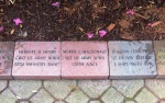Three relatives, each a veteran, Veterans Park, Lynnwood