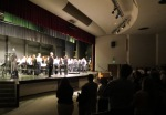 "Standing ovation for Mr.  Daniel Rowe and HIMS Symphonic Band after the ""Overture to Candide"""
