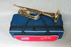Getzen Bugle with 3C Mouthpiece and Carrying Case