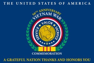 Vietnam War Commemoration Flag