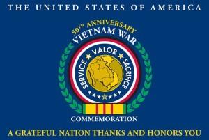Vietnam War Commemoration Flag