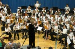 Janie McDavid conducts 2015 Honors Band
