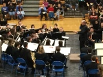 Jim Rice conducts IHS Symphonic Band