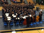 Jim Rice conducts IHS String Orchestra