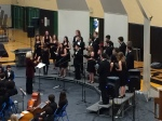 Teresa Sullivan conducts IHS Chamber Choir