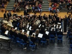 For a more smooth, mellow sound, the Wind Ensemble uses 8 new cornets