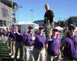 Dr. Brad McDavid, Director of Athletic Bands, University of Washington