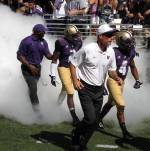 Chris Petersen, UW Husky football coach
