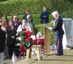 Martin Spani, VFW Post 1040 Past Commander, US Marine Corps