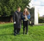 Glenn Ledbetter and Sarah Dunsmore, trumpeters
