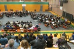 LWSD Honor Orchestra (R) and Honor Band (L), 2015-16