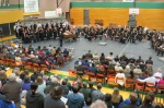 LWSD Honor Choir (L) and Honor Band (R), 2015-16