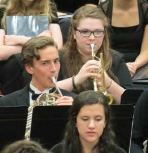 Sarah Dunsmore, LWSD Honor Band Trumpeter