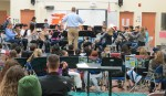 Mr. Charles Fix conducts 2nd Year Elementary Band