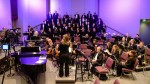 Linda Collins conducts ACC Choir & Orchestra