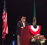 James Blossey, Commander, Edmonds VFW Post 8870, U.S Navy, Ret.
