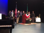 Presentation to Dr. Jean Hernandez, posthumously  honoring her father, a WWII Veteran
