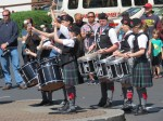 Northwest Junior Pipe Band. Photo by Nancy MacDonald.