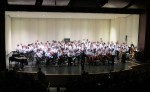 WMS combined band and orchestra