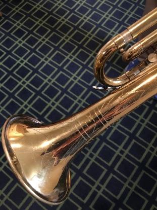 Penn stencil trumpet