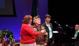 Buck Weaver singing God Bless America