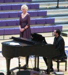 IMG_4458 (2) - Teresa Sullivan, Director of Choral Music & Nick Tagab