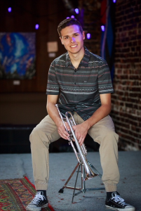 Corban Epp, 4-time WA All-State trumpeter