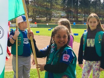 Girl Scout Color Guard