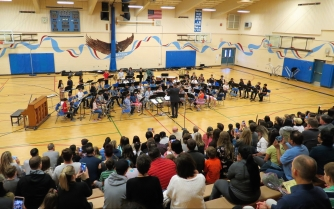 5th Grade Band, conducted by Charlie Fix