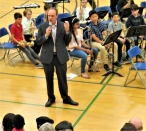 Charlie Fix, Band and Orchestra Director, Skyview Middle School