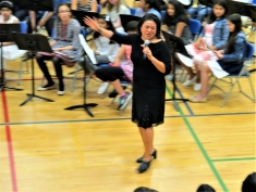 Jane Lin, Percussion Instructor