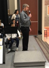 Dan Carlson, Band Director, Skyview Middle School, Bothell