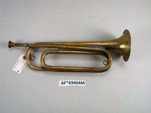 bugle that sounded end of wwi - nat'l museum of american history