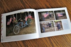 Flags Across America, Whidbey Island, WA (L, p. 24) and Fort Clatsop, OR (R, p. 25)