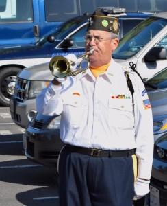 Glenn Ledbetter, VFW Post 1040 Bugler
