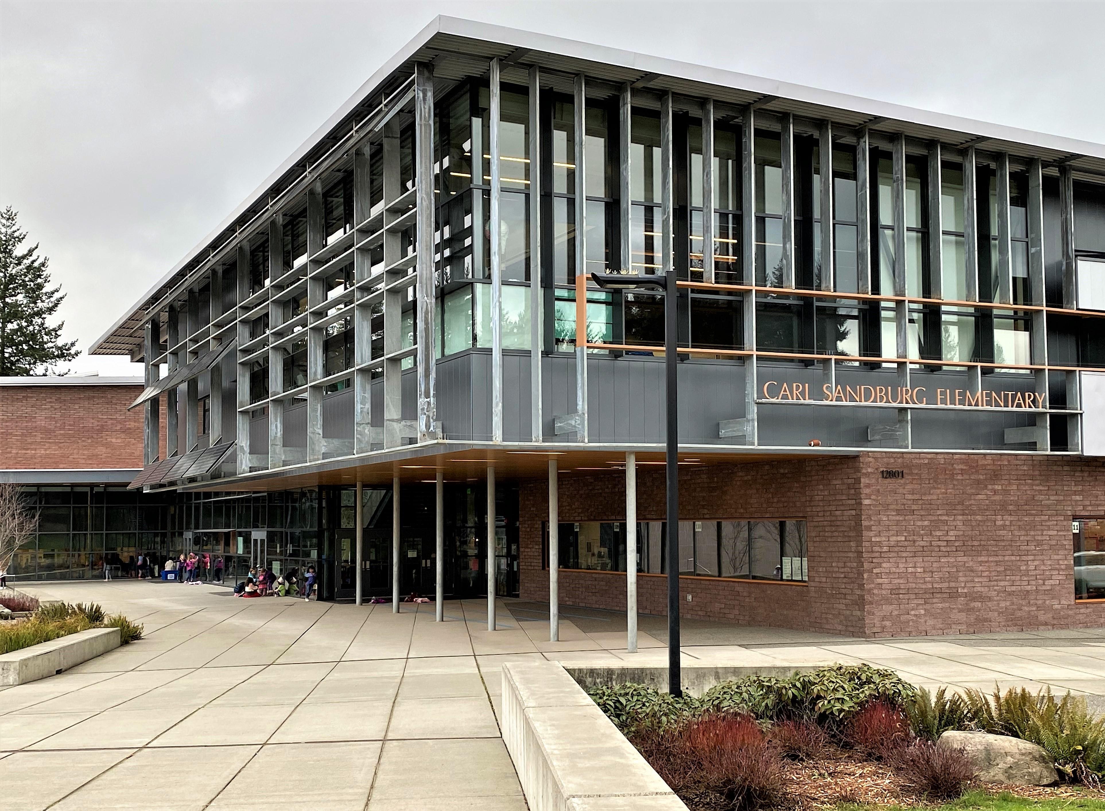 Carl Sandburg Elem School, Kirkland, 12-13-'19